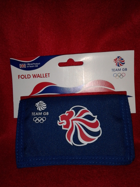 London 2012 Team GB Polyester Folding Wallet