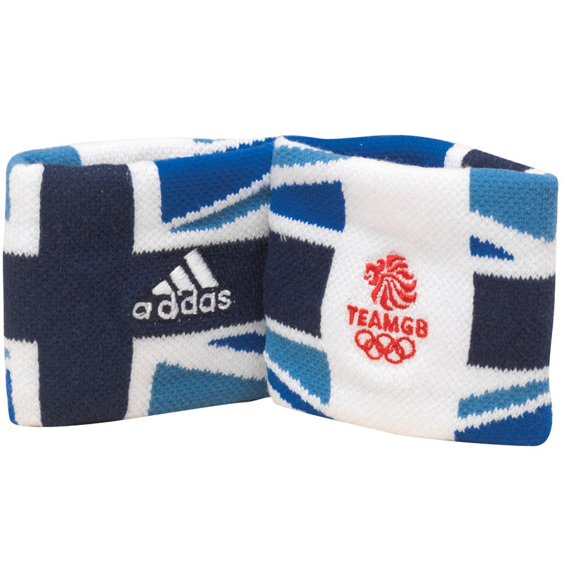 Team GB Wristbands Blue/White