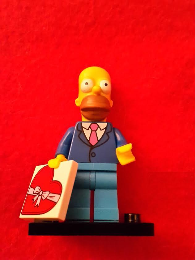 Lego Minifigures - The Simpsons S2 - Date Night Homer