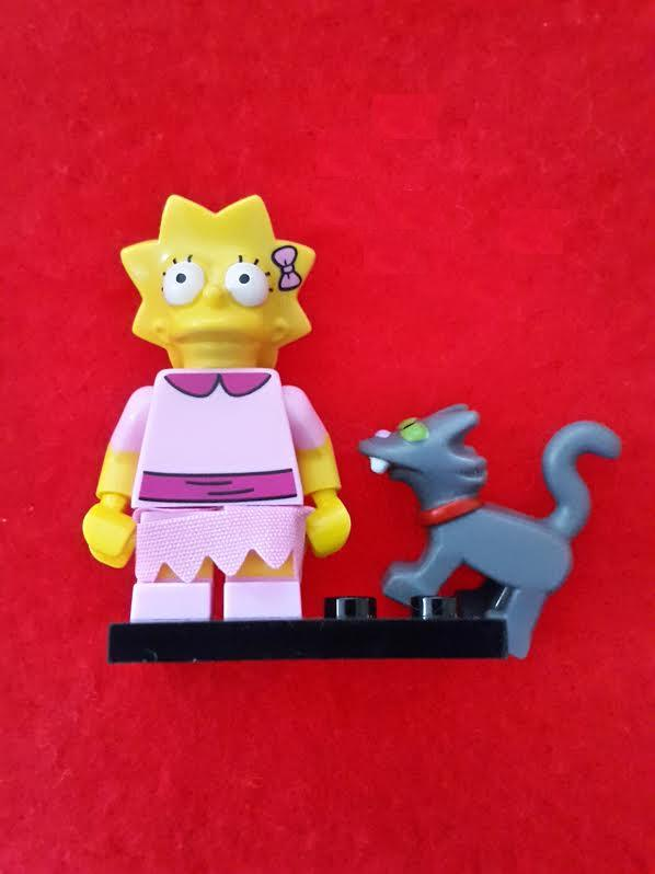 Lego Minifigures - The Simpsons S2 - Lisa and Snowball II