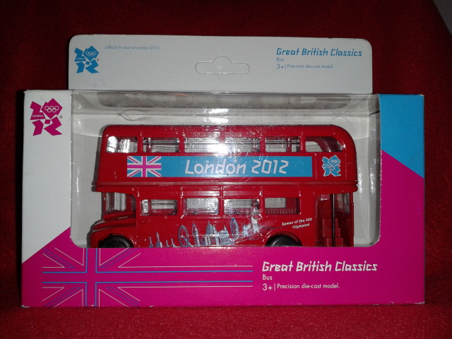 London 2012 Double Decker Bus - Corgi TY82319