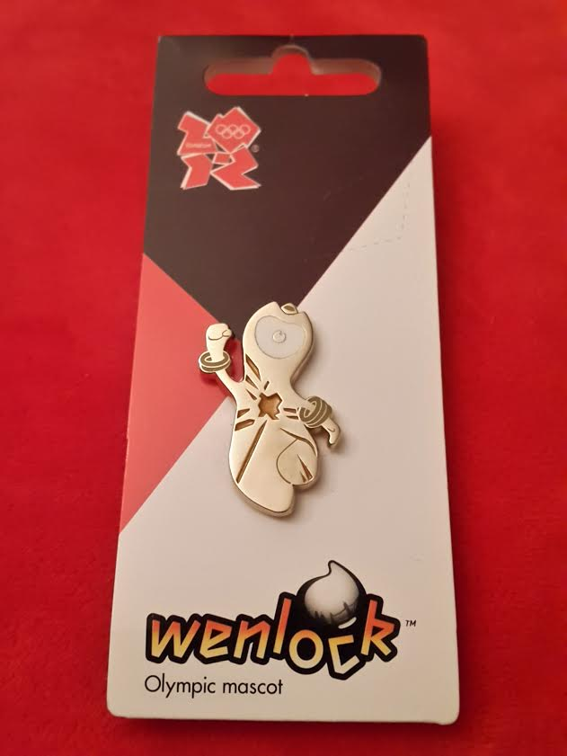 London 2012 Metal (gold coloured) Wenlock Pin