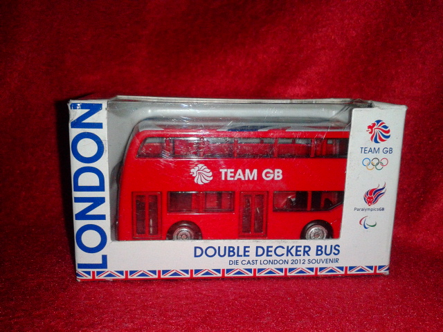 London 2012 Olympics - Team GB Double Decker Bus - Corgi TY62409