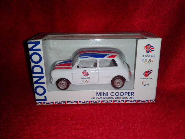 London 2012 Corgi Mini Cooper TY62403