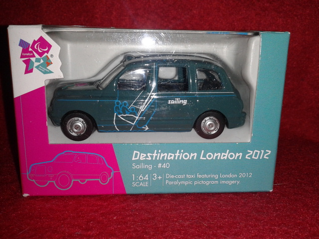 Corgi Destination London 2012 - Sailing TY66142