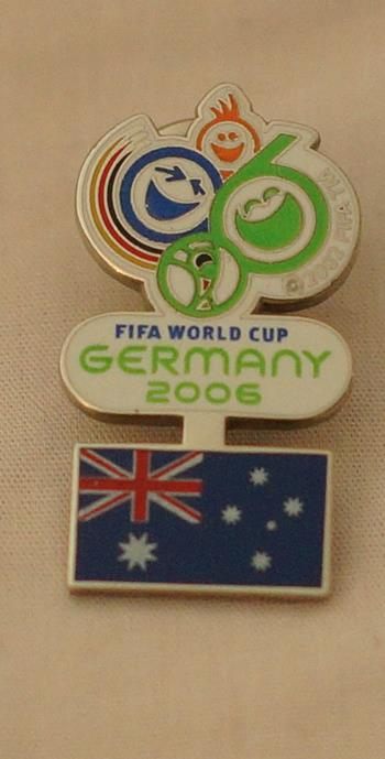 2006 World Cup - Australia Pin