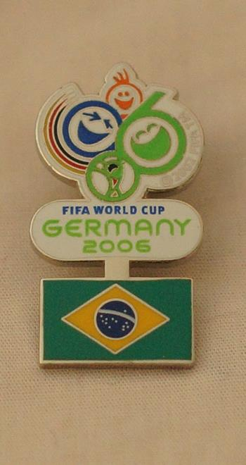 2006 World Cup - Brazil Pin