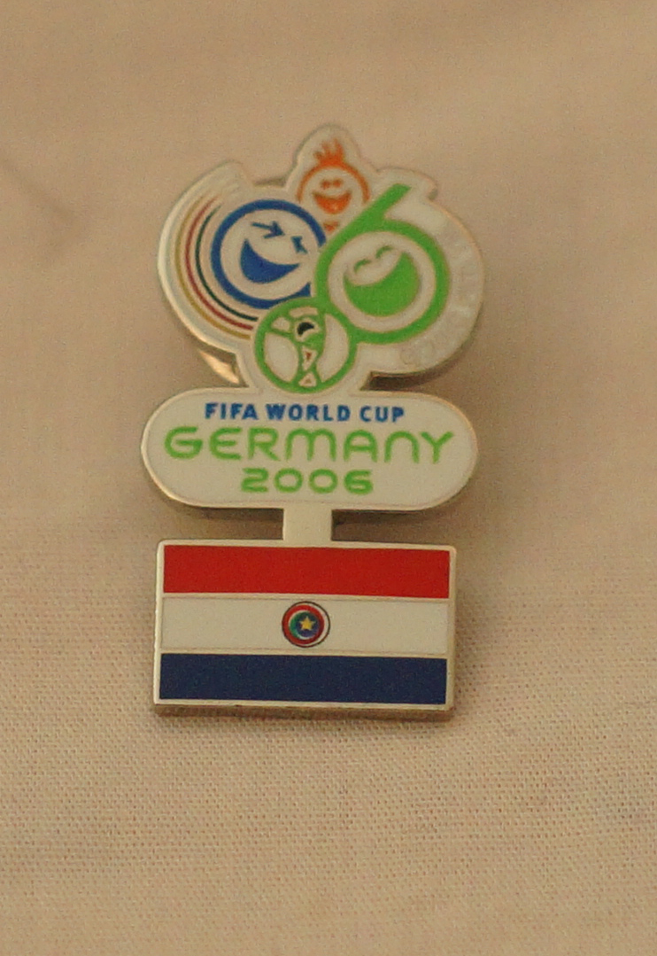 2006 World Cup - Paraguay Pin